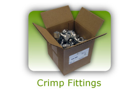 Crimp fittings
